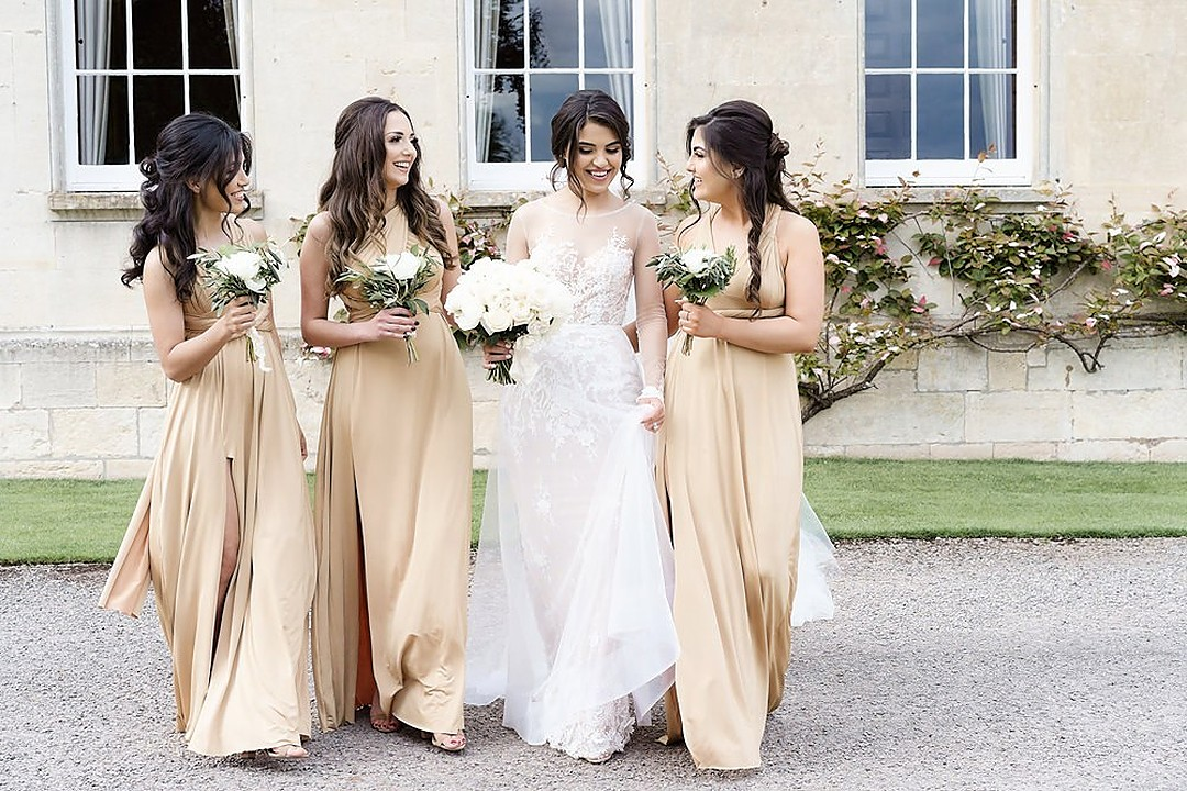 pale-gold-bridesmaid-dresses